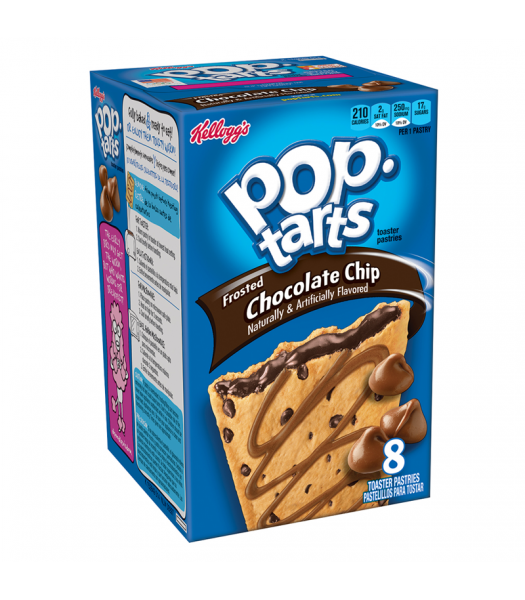 Pop Tarts - Chocolate Chip - 8 Pack 14.7oz (416g) Cookies and Cakes Pop Tarts