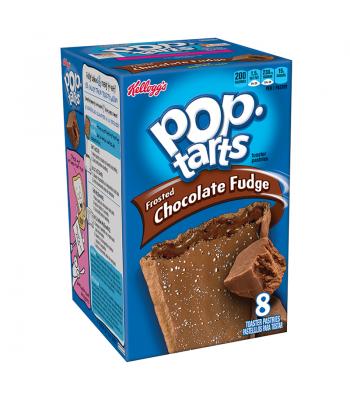 Pop Tarts - Chocolate Fudge - 8 Pack 14.7oz (416g) Toaster Pastries Pop Tarts