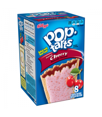 Pop Tarts - Frosted Cherry - 8 Pack 14.7oz (416g) Toaster Pastries Pop Tarts