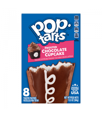 Pop Tarts Frosted Chocolate Cupcake 13.5oz (384g) Food and Groceries Pop Tarts