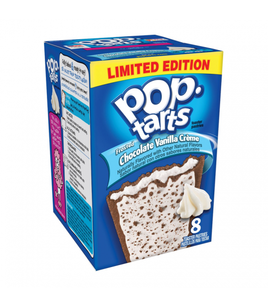 Pop Tarts Frosted Chocolate Vanilla Crème - 14.1oz (400g) Cookies and Cakes Pop Tarts