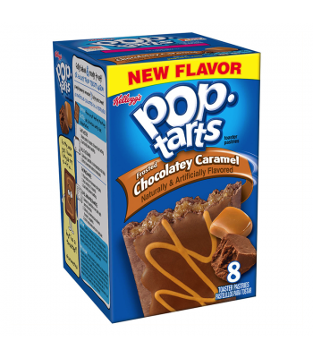 Pop Tarts Frosted Chocolatey Caramel 8 Pack 14.1oz (400g) Toaster Pastries Pop Tarts
