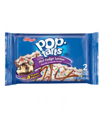 Pop Tarts - Hot Fudge Sundae - Twin Pack - 3.67oz (104g) Toaster Pastries Pop Tarts