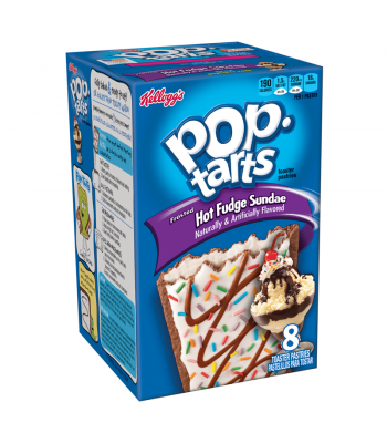 Pop Tarts - Frosted Hot Fudge Sundae - 8-Pack 13.5oz  Cookies and Cakes Pop Tarts