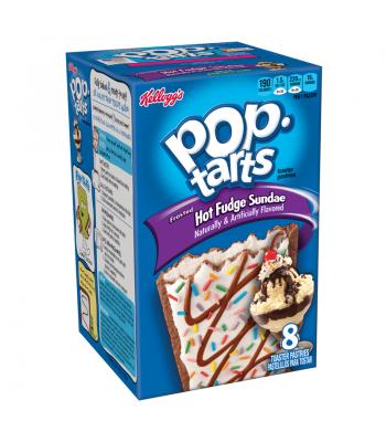Pop Tarts - Frosted Hot Fudge Sundae - 8-Pack 13.5oz Toaster Pastries Pop Tarts