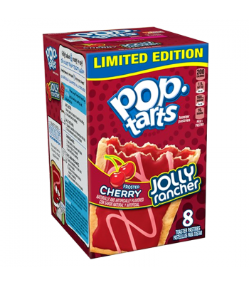 Pop Tarts - Jolly Rancher Frosted Cherry 14.1oz (400g) Breakfast & Cereals Pop Tarts