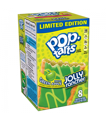 Pop Tarts - Jolly Rancher Frosted Green Apple 14.1oz (400g)