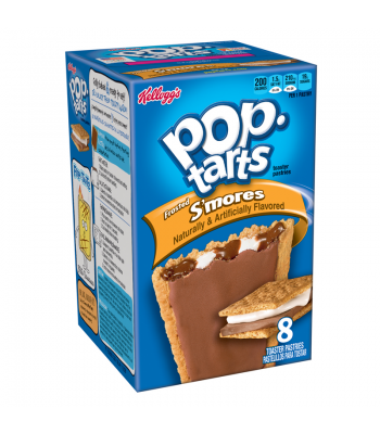 Pop Tarts Frosted S'mores 8-Pack 14.7oz Toaster Pastries Pop Tarts
