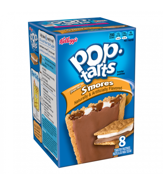Pop Tarts Frosted S'mores 8-Pack 14.7oz Cookies and Cakes Pop Tarts