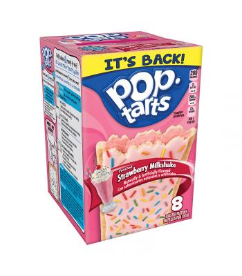 Kellogg's Pop Tarts Strawberry Milkshake 14.1oz (400g)