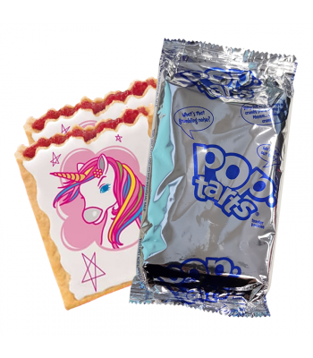 Pop Tarts - Unicorn Power Frosted Cherry - Twin Pack Cookies and Cakes Pop Tarts