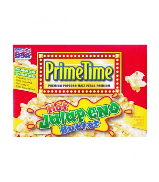PrimeTime Premium Popcorn Jalapeno Butter 7.2oz (204g) Snacks and Chips PrimeTime
