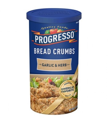 Progresso Garlic and Herb Bread Crumbs 15oz (425g)