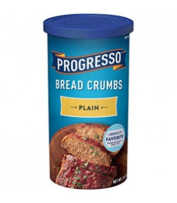 Clearance Special - Progresso Plain Bread Crumbs 15oz (425g) **Best Before: 24 September 21** Clearance Zone