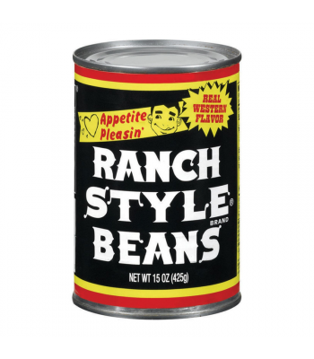Ranch Style Beans Black Label - 15oz (425g) Food and Groceries