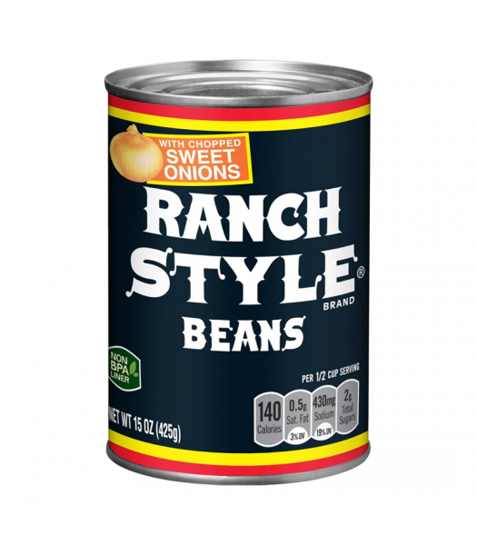 Ranch Style Beans with Chopped Sweet Onions - 15oz (425g) Food and Groceries
