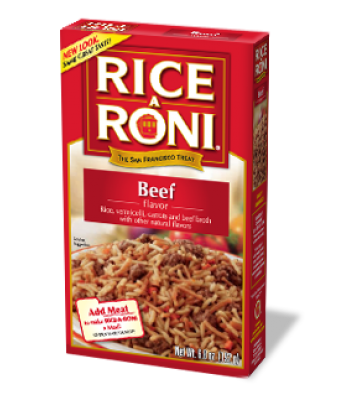 Rice-A-Roni Beef 6.8oz (192g) Food and Groceries Rice-A-Roni