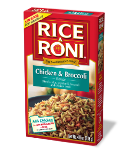 Rice-A-Roni Chicken and Broccoli 4.9oz (138g) Food and Groceries Rice-A-Roni