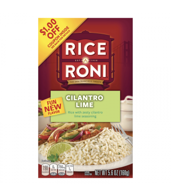 Rice-A-Roni Cilantro Lime 5.6oz (160g) Food and Groceries