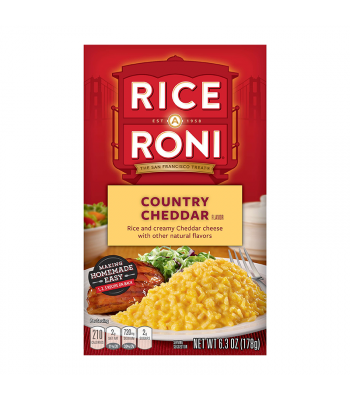 Rice A Roni Country Cheddar 6.3oz (178g)