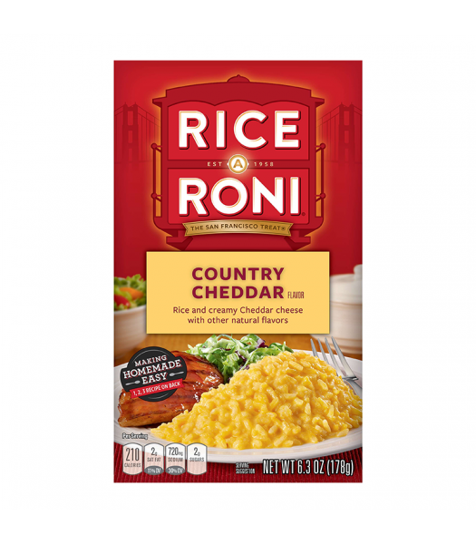 Rice-A-Roni Country Cheddar 6.3oz (178g) Food and Groceries Rice-A-Roni