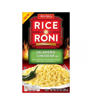 Clearance Special - Rice-A-Roni Jalapeno Cheddar - 6.4oz (184g) **Best Before: 26 September 20** Clearance Zone