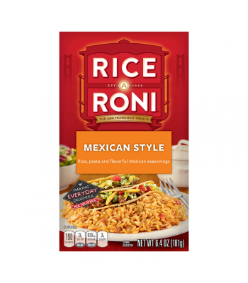 Rice-A-Roni Mexican Style 6.4oz (181g) Food and Groceries Rice-A-Roni