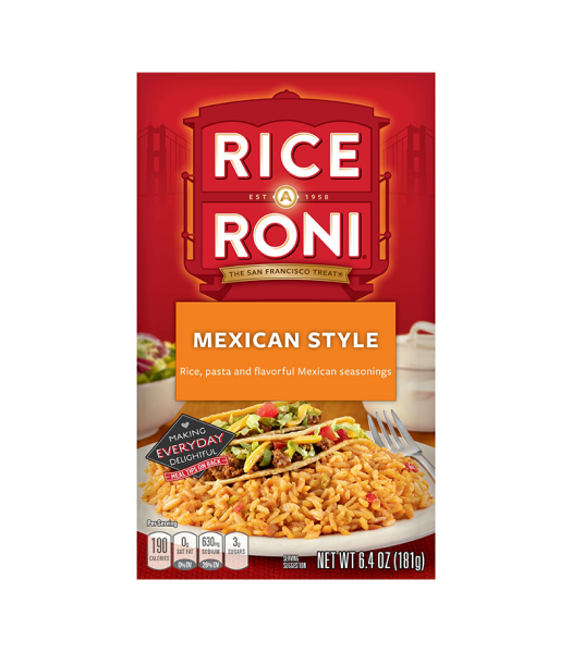 Rice A Roni Mexican Style 6.4oz (181g)