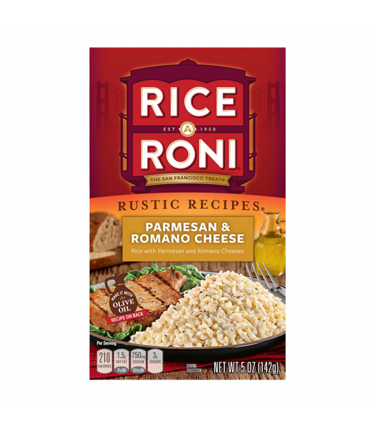 Rice-A-Roni Parmesan & Romano Cheese 5oz (142g) Food and Groceries Rice-A-Roni