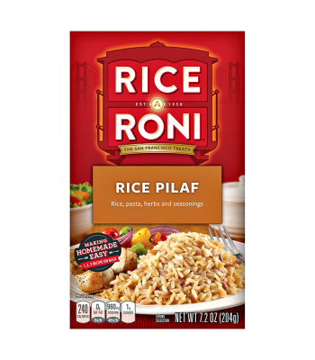 Rice-A-Roni Rice Pilaf 7.2oz (204g) Food and Groceries Rice-A-Roni