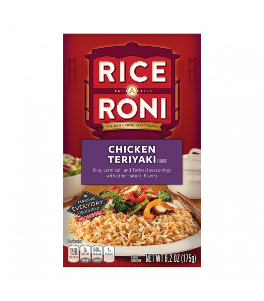 Rice-A-Roni Chicken Teriyaki 6.2oz (175g) Food and Groceries Rice-A-Roni