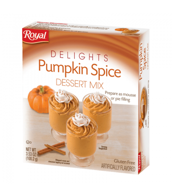 Royal Delights Pumpkin Spice Dessert Mix 3.53oz (100.2g) Food and Groceries