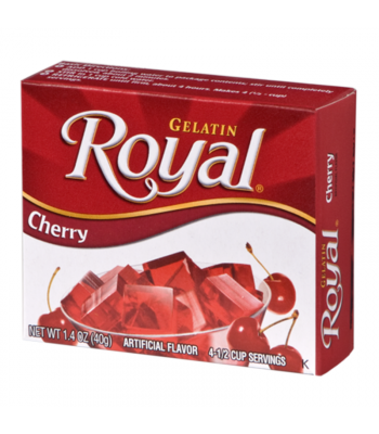 Royal Gelatin - Cherry - 1.4oz (40g) Food and Groceries