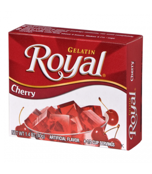 Royal Gelatin - Cherry - 1.4oz (40g) Food and Groceries Royal