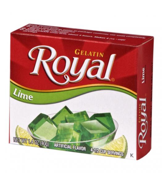 Royal Gelatin - Lime - 1.4oz (40g) Food and Groceries Royal