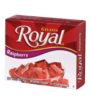 Royal Gelatin - Raspberry - 1.4oz (40g) Sweets and Candy