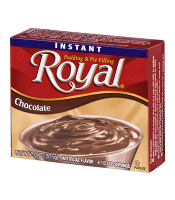 Royal Pudding - Chocolate - 2.02oz (57.5g) Food and Groceries Royal