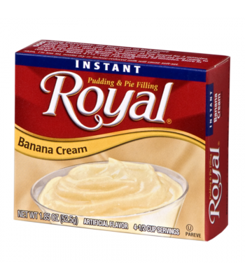 Royal Pudding - Banana Cream - 1.85oz (52.5g) Food and Groceries
