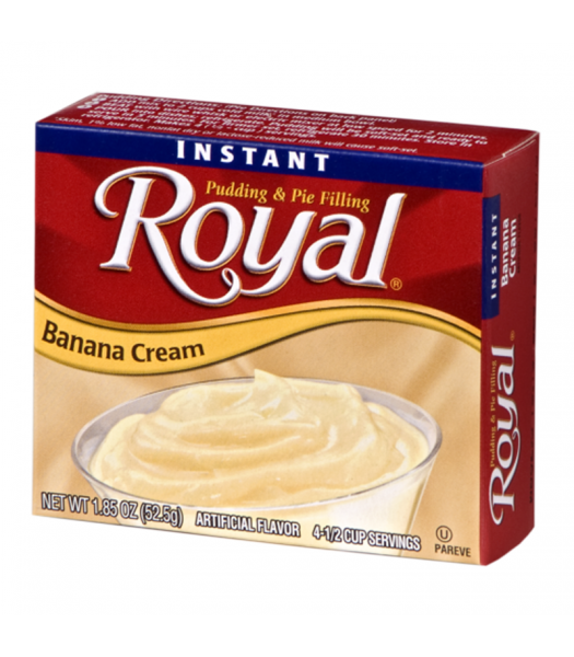 Royal Pudding - Banana Cream - 1.85oz (52.5g) Food and Groceries Royal