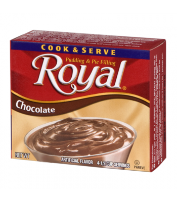 Royal Pudding - Chocolate - 2.02oz (57.5g) Food and Groceries