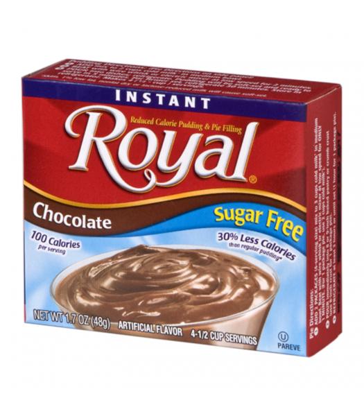 Royal Pudding Sugar Free - Chocolate - 1.7oz (48g) Food and Groceries