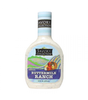Savory Collection Buttermilk Ranch Dressing 16fl.oz (473ml) Food and Groceries Savory Collection