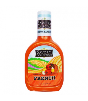 Savory Collection French Salad Dressing 16fl.oz (473ml) Sauces & Condiments Savory Collection