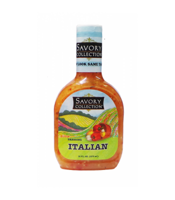 Savory Collection Italian Salad Dressing 16oz Sauces & Condiments Savory Collection