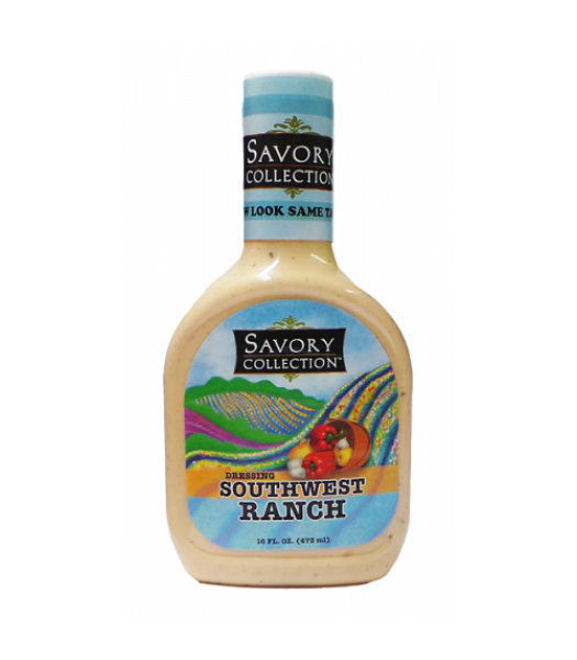Savory Collection Southwest Ranch Dressing  - 16fl.oz (473ml) Food and Groceries Savory Collection