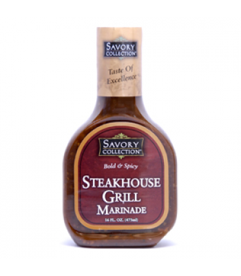 Savoury Collection Steakhouse Grill Marinade 16oz (473ml)