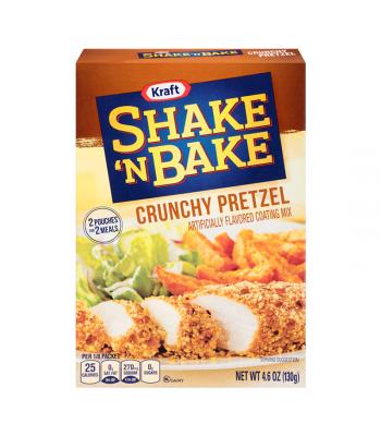 Shake 'N Bake Crunchy Pretzel Seasoned Coating Mix 4.6oz (130g) Food and Groceries Shake 'N Bake