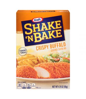 Shake And Bake Crispy Buffalo Seasoned Coating Mix 4.75oz (135g) Baking & Cooking Shake 'N Bake