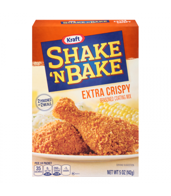 Shake 'N Bake Extra Crispy Chicken Seasoned Coating Mix 5oz (142g) Food and Groceries Shake 'N Bake
