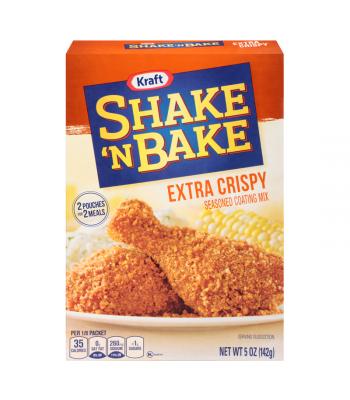 Kraft Shake N Bake Extra Crispy Chicken Seasoned Coating Mix 5oz (142g) Baking & Cooking Kraft